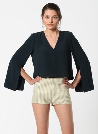 Özlem Kaya Bluz Yeşil